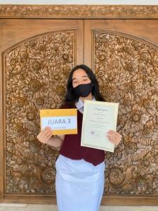 SMA Juara 3 Pemenang Lomba Essay Kartini 2021 DWP