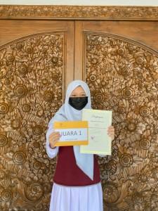 SMP Juara 1 Pemenang Lomba Essay Kartini 2021 DWP